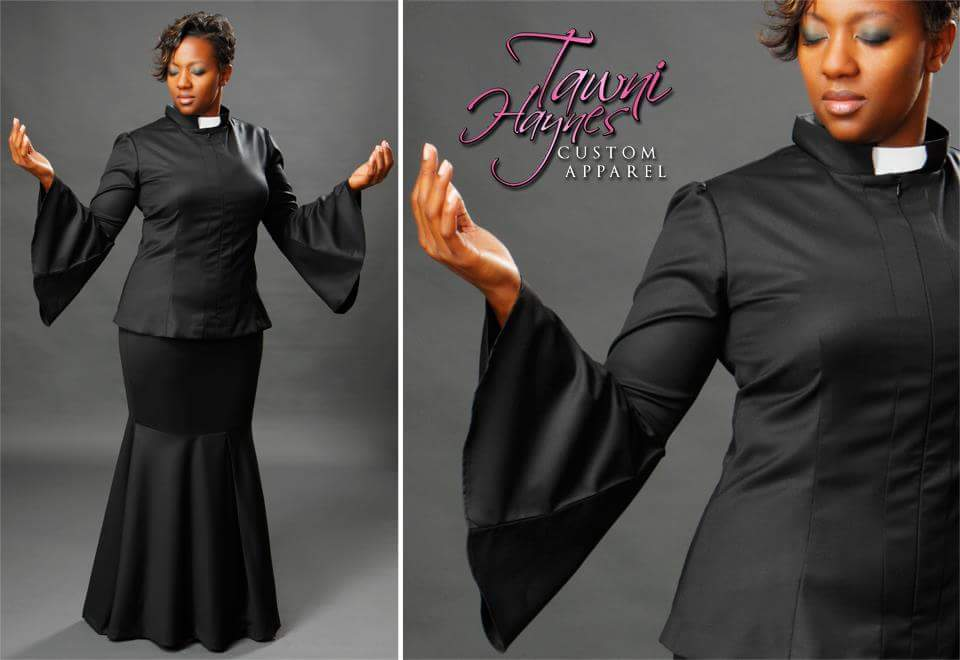 TAWNI HAYNES CUSTOM MADE CLERGY TOP - Righteous Shoes & Apparel